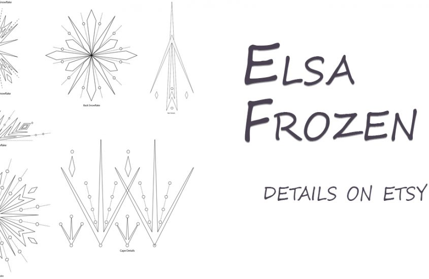Elsa – frozen 2 details on etsy